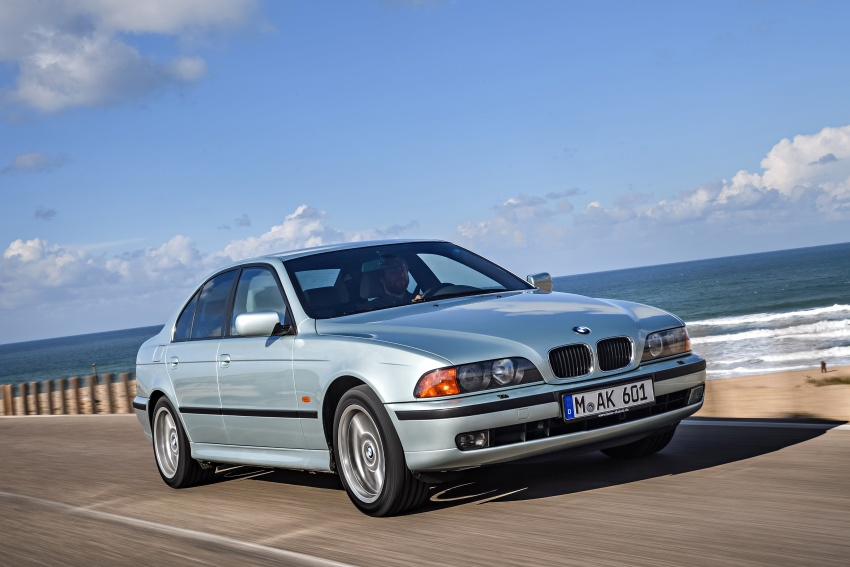 BMW 5 Series – a look back through the generations Image #636963