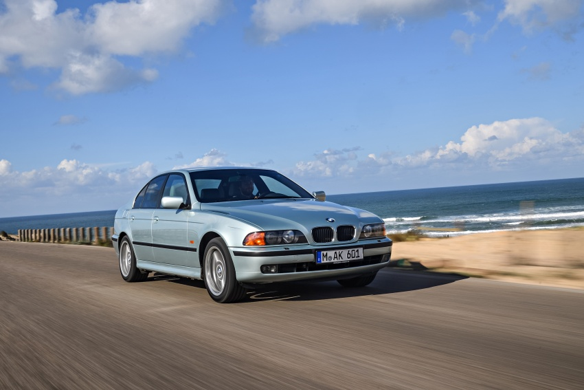 BMW 5 Series – a look back through the generations Image #636965