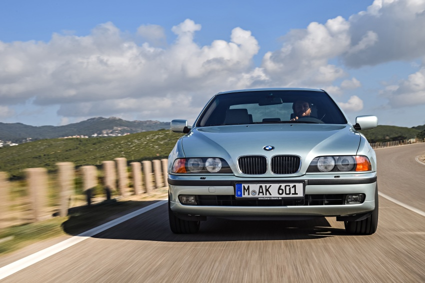 BMW 5 Series – a look back through the generations Image #636966