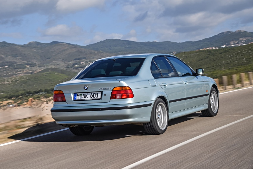 BMW 5 Series – a look back through the generations Image #636967