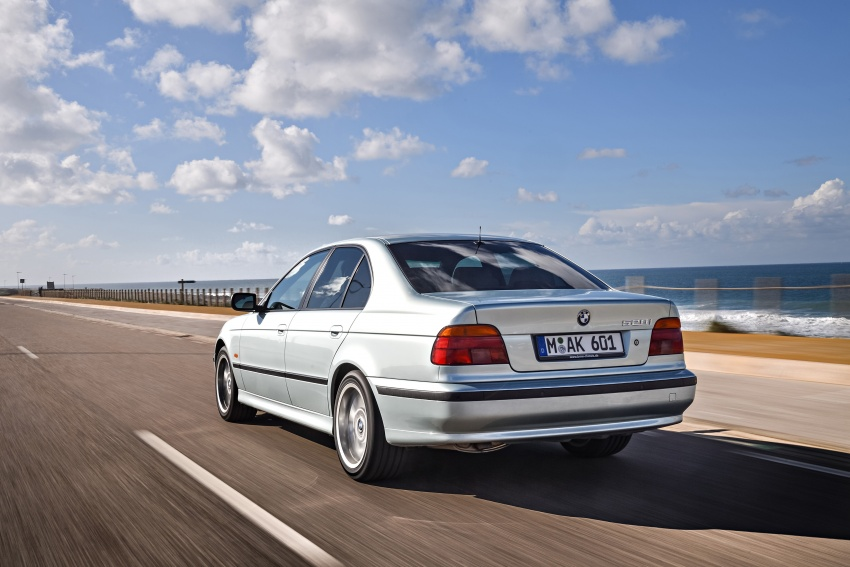 BMW 5 Series – a look back through the generations Image #636969