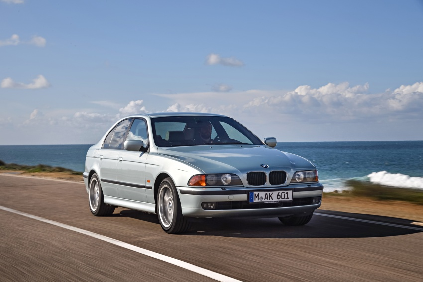 BMW 5 Series – a look back through the generations Image #636971