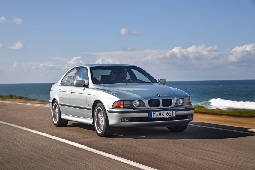 BMW 5 Series – a look back through the generations Image #636972