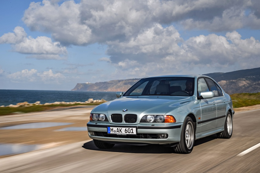 BMW 5 Series – a look back through the generations Image #636973