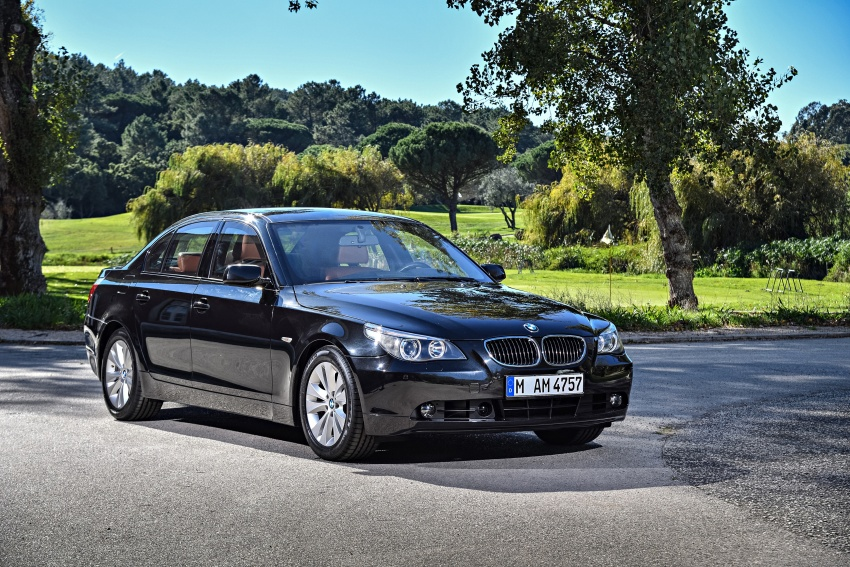 BMW 5 Series – a look back through the generations Image #636993