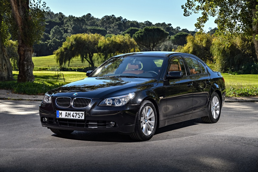 BMW 5 Series – a look back through the generations Image #636994
