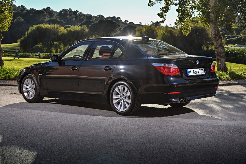 BMW 5 Series – a look back through the generations Image #636999
