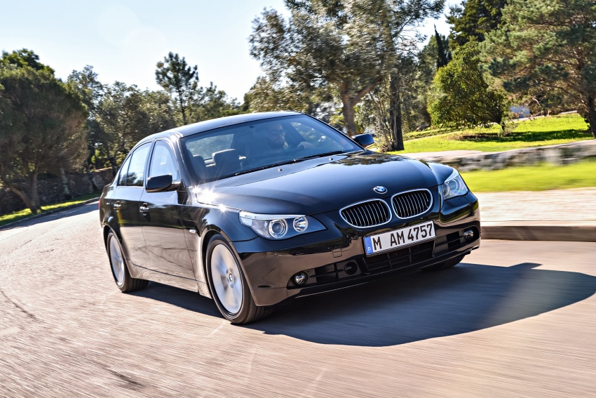 BMW 5 Series – a look back through the generations Image #637012