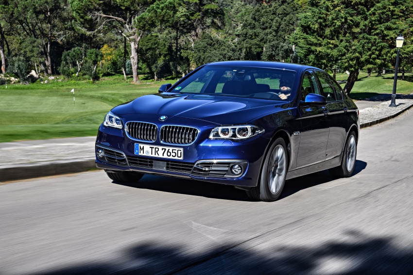 BMW 5 Series – a look back through the generations Image #637031