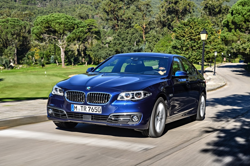 BMW 5 Series – a look back through the generations Image #637032
