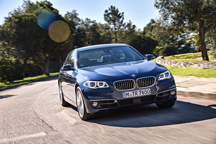 BMW 5 Series – a look back through the generations Image #637033