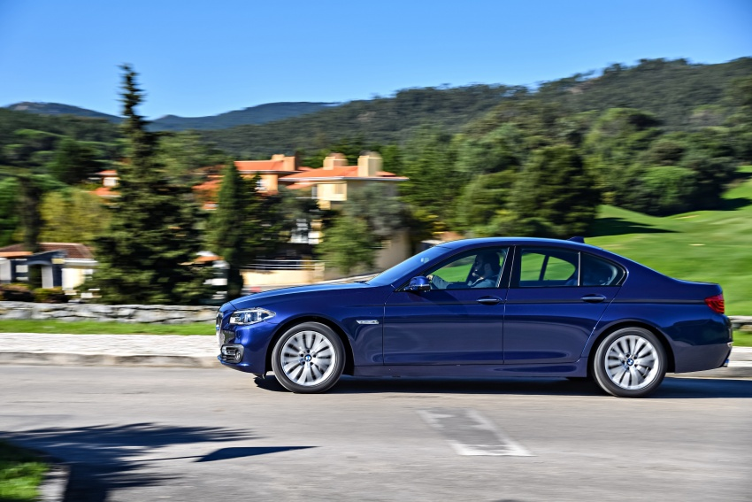 BMW 5 Series – a look back through the generations Image #637035