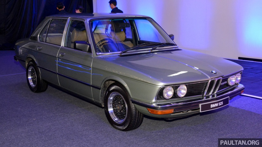 BMW 5 Series – a look back through the generations Image #637049