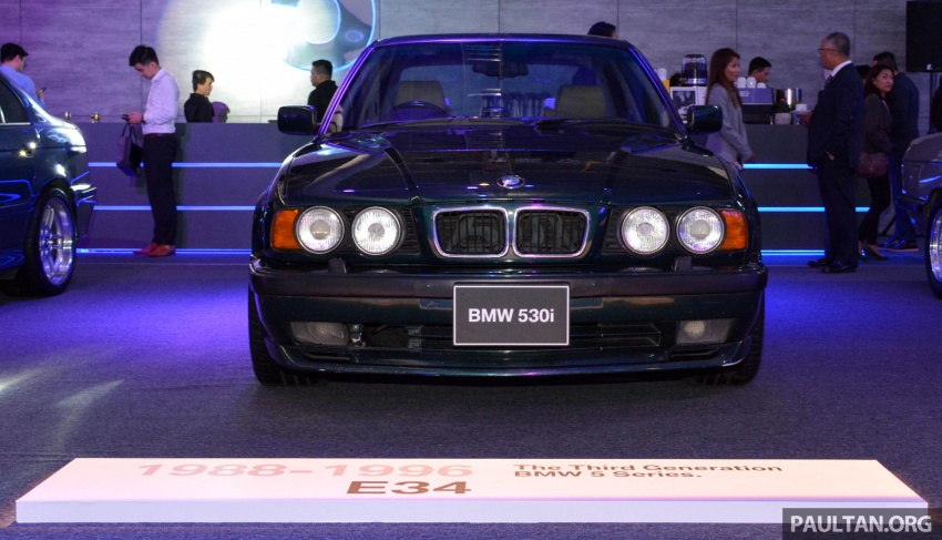 BMW 5 Series – a look back through the generations Image #637059