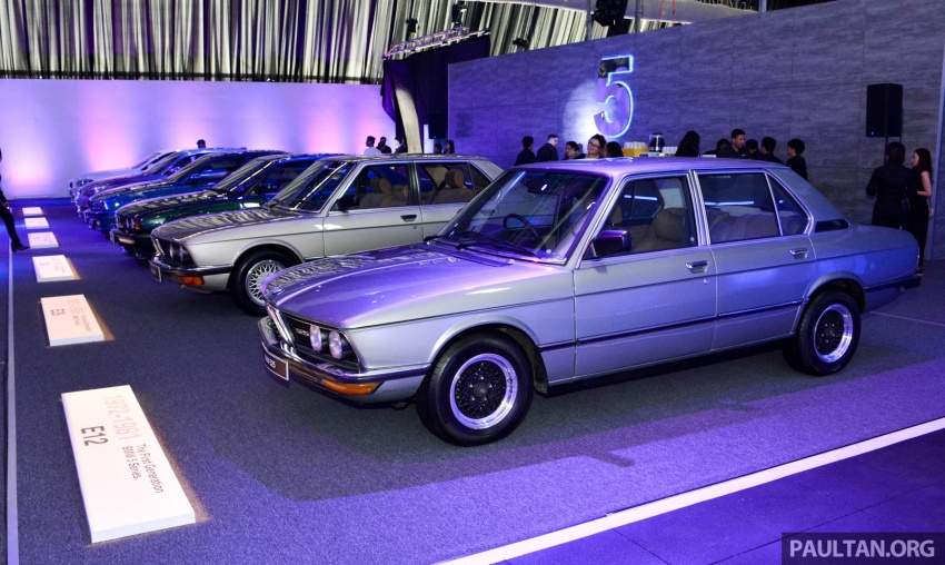 BMW 5 Series – a look back through the generations Image #637076