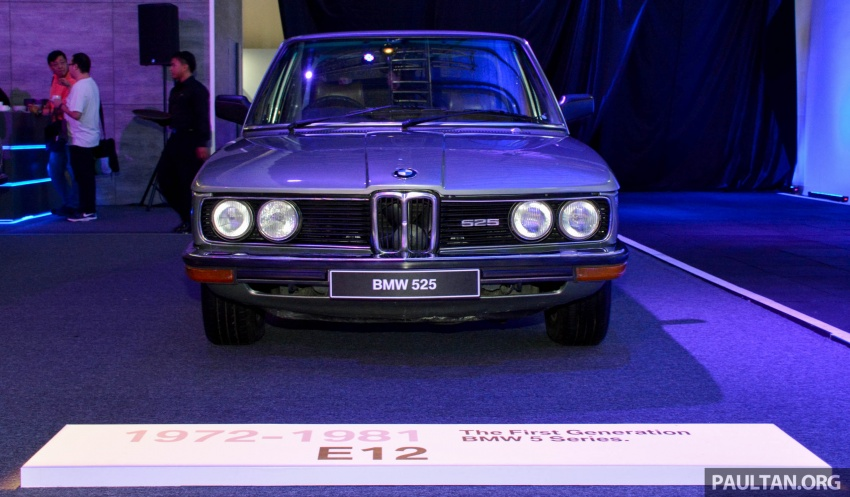 BMW 5 Series – a look back through the generations Image #637051