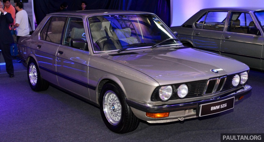 BMW 5 Series – a look back through the generations Image #637053