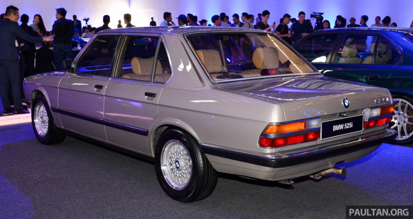 BMW 5 Series – a look back through the generations Image #637054