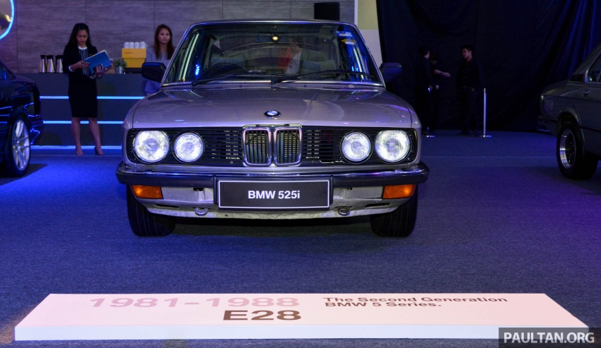 BMW 5 Series – a look back through the generations Image #637055