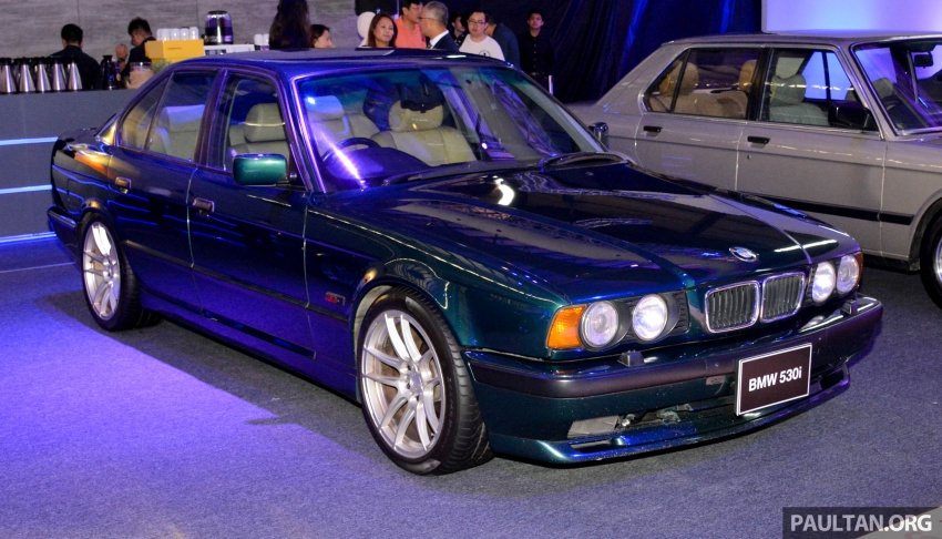 BMW 5 Series – a look back through the generations Image #637057