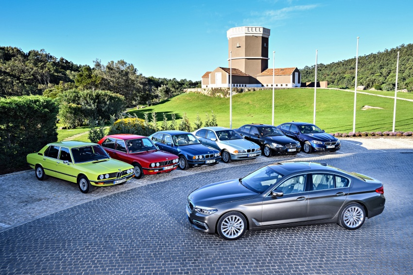 BMW 5 Series – a look back through the generations Image #637038