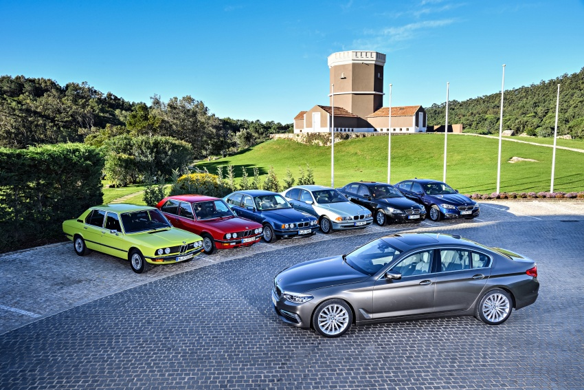BMW 5 Series – a look back through the generations Image #637039