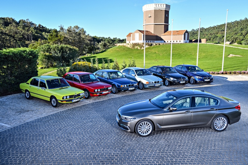 BMW 5 Series – a look back through the generations Image #637040