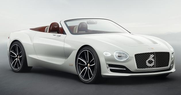 Bentley Exp 12 Speed 6e Luxury Electric Vehicle