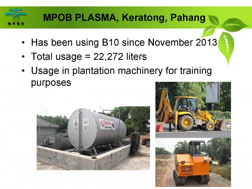 Pelaksanaan jualan biodiesel B10 di M'sia – soal jawab bersama ketua penyelidik MPOB, Dr Harrison Lau Image #624556