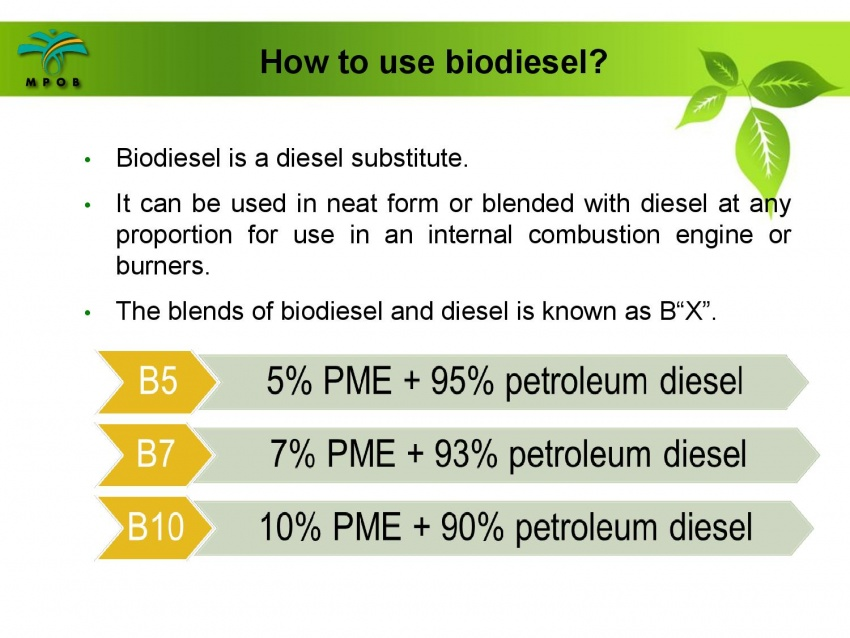 B10 biodiesel implementation in Malaysia – we speak with MPOB's biodiesel researcher, Dr Harrison Lau Image #624999