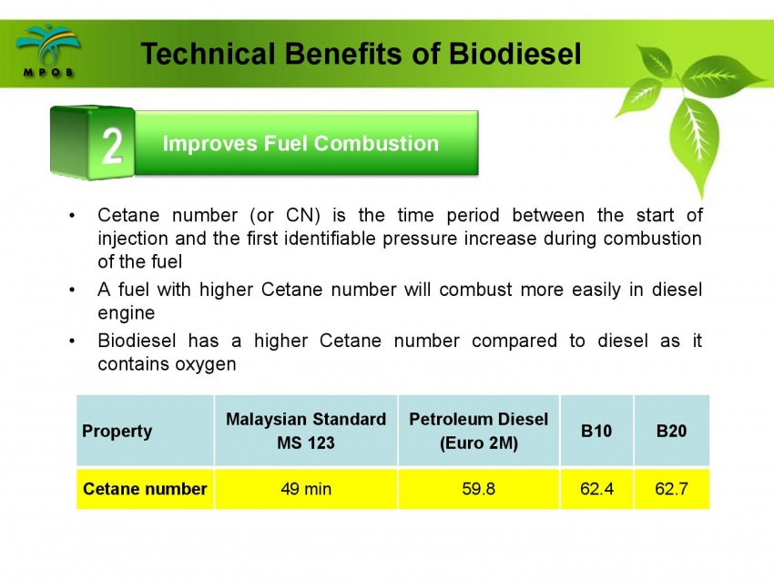 B10 biodiesel implementation in Malaysia – we speak with MPOB's biodiesel researcher, Dr Harrison Lau Image #624987