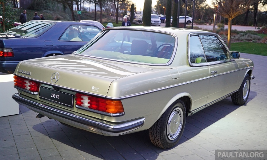 GALLERY: Mercedes-Benz E-Class Coupe through the years – W114, C123, C124, C208, C209, C207 and C238 Image #628140