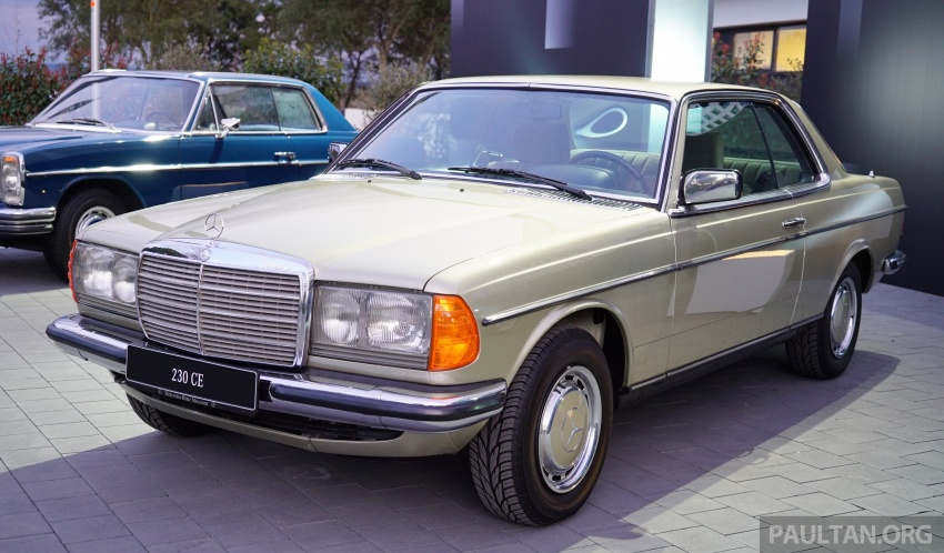 GALLERY: Mercedes-Benz E-Class Coupe through the years – W114, C123, C124, C208, C209, C207 and C238 Image #628132