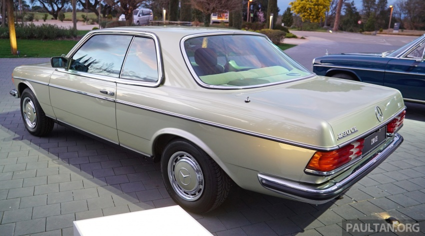 GALLERY: Mercedes-Benz E-Class Coupe through the years – W114, C123, C124, C208, C209, C207 and C238 Image #628138
