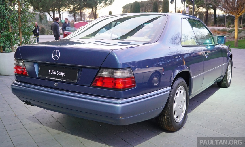GALLERY: Mercedes-Benz E-Class Coupe through the years – W114, C123, C124, C208, C209, C207 and C238 Image #628155