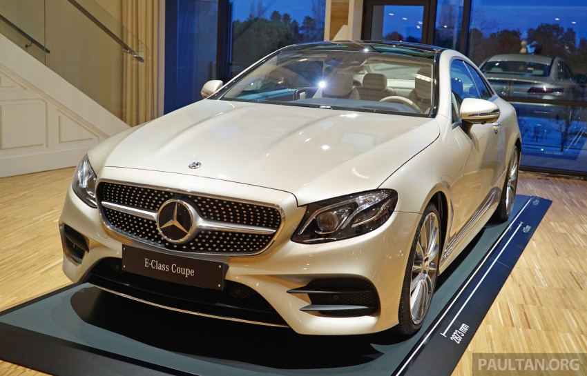 GALLERY: Mercedes-Benz E-Class Coupe through the years – W114, C123, C124, C208, C209, C207 and C238 Image #628215