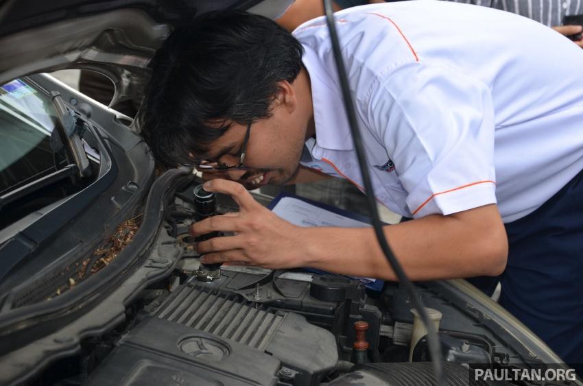 Sehari sebagai pemeriksa kenderaan di Puspakom – apa yang ditawarkan oleh pusat pemeriksaan ini? Image #631371
