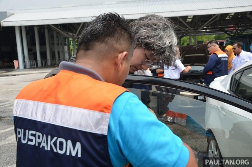 Sehari sebagai pemeriksa kenderaan di Puspakom – apa yang ditawarkan oleh pusat pemeriksaan ini? Image #631370