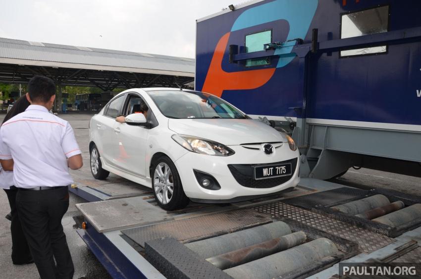 Sehari sebagai pemeriksa kenderaan di Puspakom – apa yang ditawarkan oleh pusat pemeriksaan ini? Image #631356