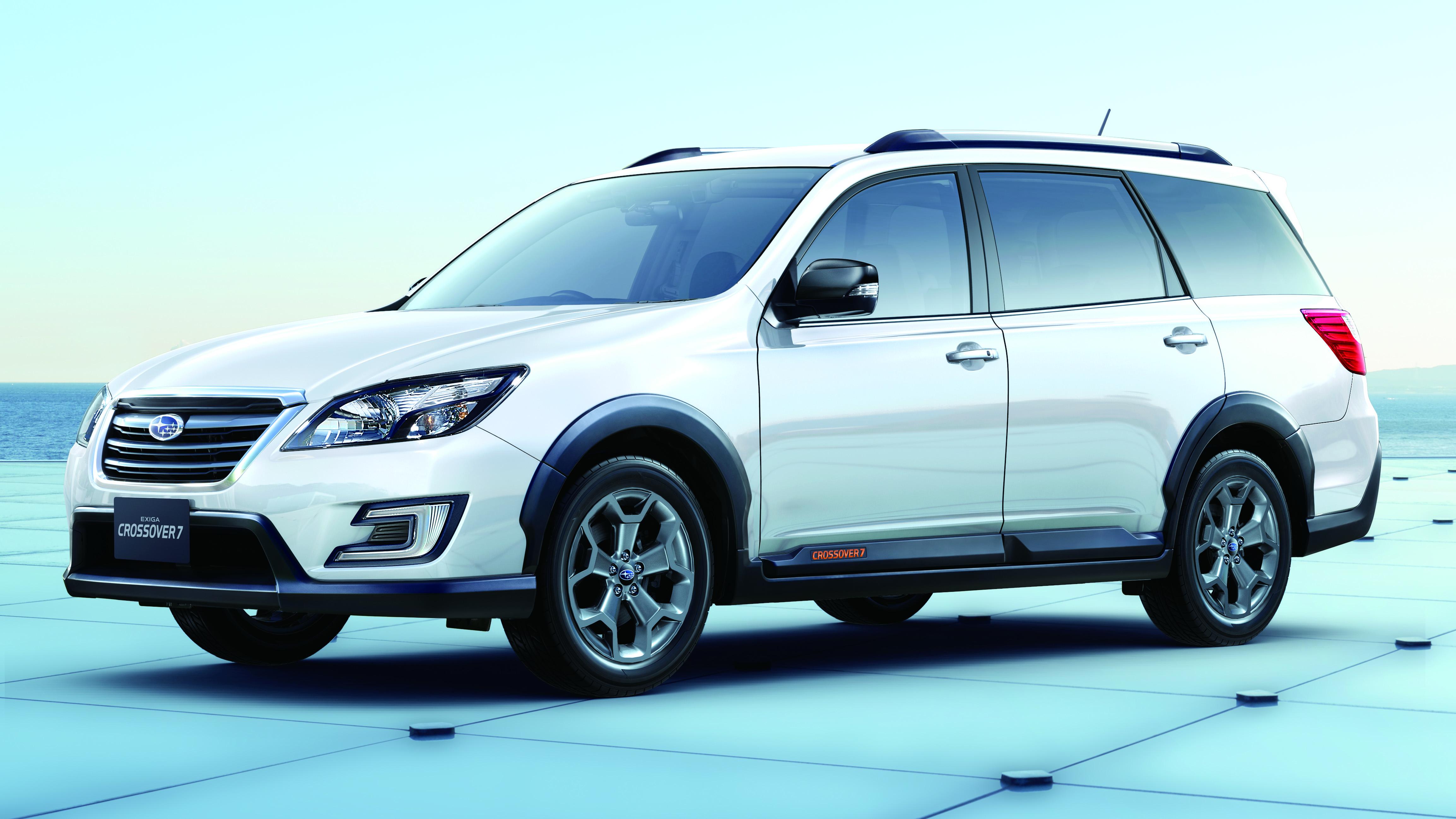 Subaru Exiga Crossover7 gets rugged XBreak trim