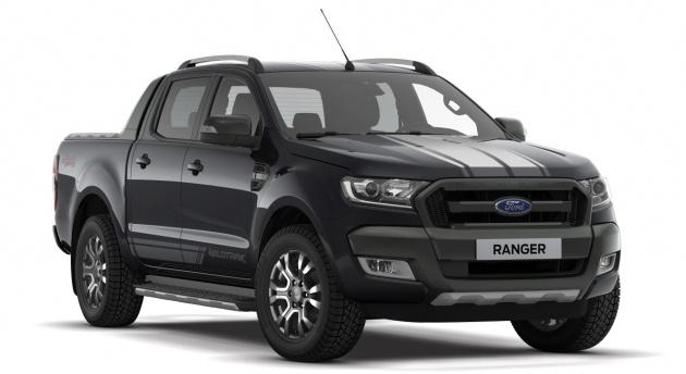 Ford Ranger 3.2L WildTrak Jet Black edition – RM142k