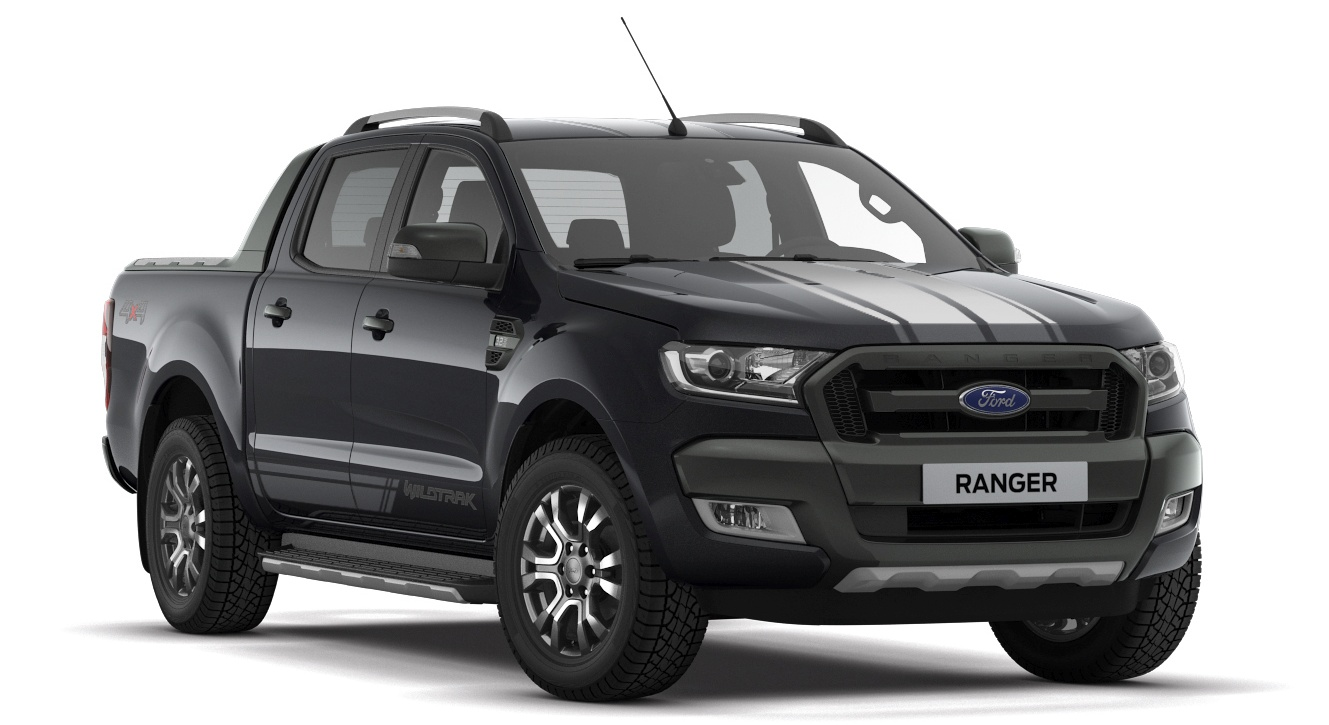 Ford ranger 3 2l wildtrak jet black edition rm142k for Ford ranger wildtrak interior 2017