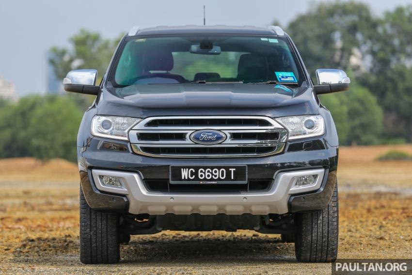 PANDU UJI: Ford Everest 3.2L Titanium kurang popular, tapi tetap berkaliber, tahan lasak dan praktikal Image #631633