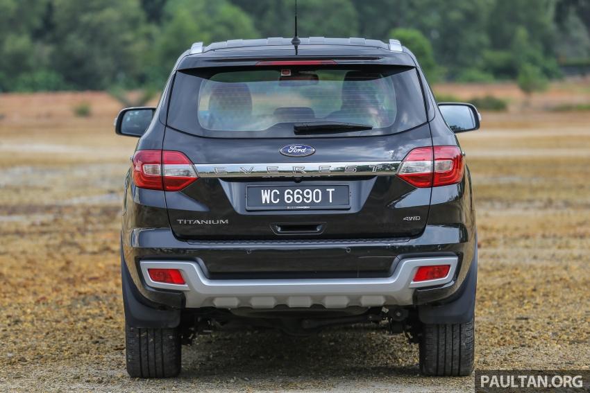 PANDU UJI: Ford Everest 3.2L Titanium kurang popular, tapi tetap berkaliber, tahan lasak dan praktikal Image #631634