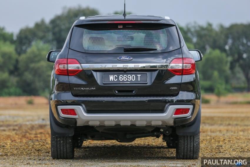 PANDU UJI: Ford Everest 3.2L Titanium kurang popular, tapi tetap berkaliber, tahan lasak dan praktikal Image #631635