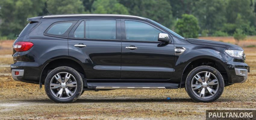 PANDU UJI: Ford Everest 3.2L Titanium kurang popular, tapi tetap berkaliber, tahan lasak dan praktikal Image #631636