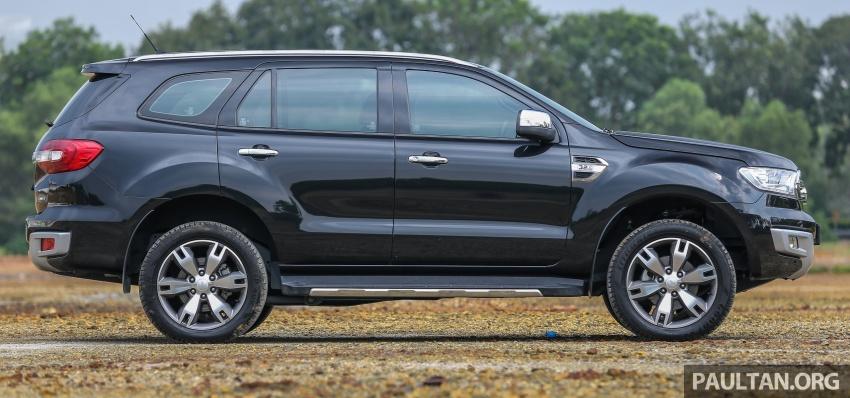PANDU UJI: Ford Everest 3.2L Titanium kurang popular, tapi tetap berkaliber, tahan lasak dan praktikal Image #631637