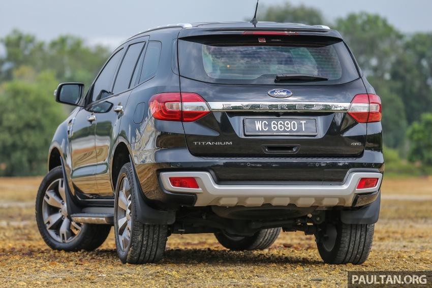 PANDU UJI: Ford Everest 3.2L Titanium kurang popular, tapi tetap berkaliber, tahan lasak dan praktikal Image #631664