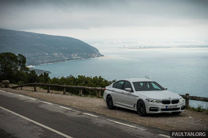DRIVEN: G30 BMW 5 Series – raising the stakes again Image #632754