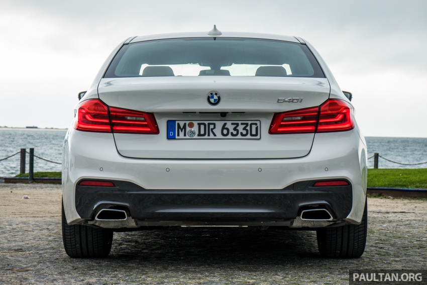 DRIVEN: G30 BMW 5 Series – raising the stakes again Image #632763
